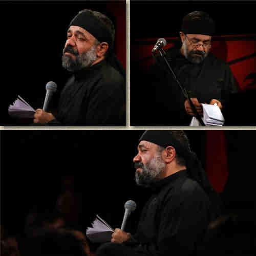 محمود کریمی یتیما با ظرف شیر